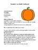 Spiral and Differentiated Halloween Project Based Math