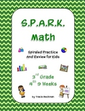 Spiraled STAAR/Common Core Math Review for 3rd Grade - 4th 9 Weeks