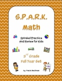 Spiraled STAAR/Common Core Math Review for 3rd Grade - Com