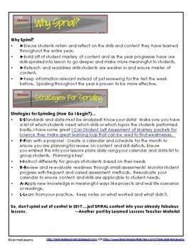 Spiraling Instruction: Professional Development Blog Series