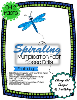 Spiraling Multiplication Speed Drill