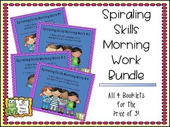 Spiraling Skills Morning Work Bundle