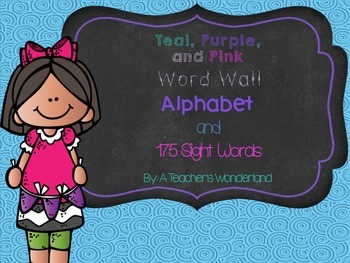 Spirals Word Wall and Sight Words