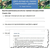Spirit Animals Book #2: Hunted- Comprehension Questions