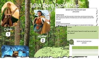 Spirit Animals: Wild Born Story Map Discussion Game