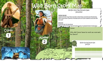 Spirit Animals: Wild Born Story Map Discussion Game
