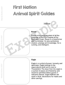 Spirit Guides and Totems of the First Nations and Native Americans