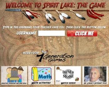 Spirit Lake Demo - PC Version - Common Core Math and Nativ