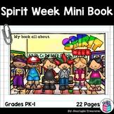Spirit Week Mini Book for Early Readers