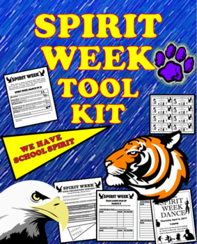 Spirit Week Tool Kit, Activities and More!