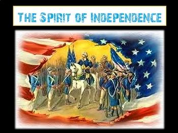 Spirit of Independence Vocabulary