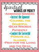 Spiritual & Corporal Works of Mercy Posters