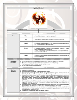 Assignment - Spiritual Symbol