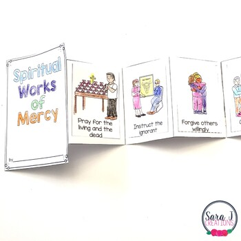 Spiritual Works of Mercy Mini Book