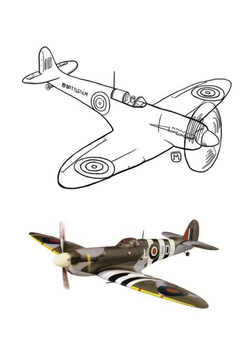 Spitfire - Battle of Britain Word Search