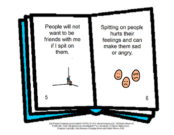 Spitting - Social Stories Book