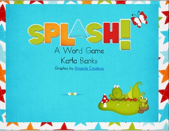 Splash! A sight word game