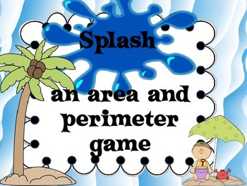 Splash:  An Area and Perimeter Board Game