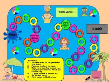 Splash:  An Area and Perimeter Board Game