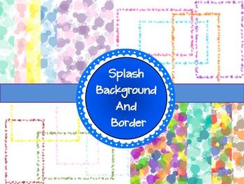 Splash Backgrounds & Borders