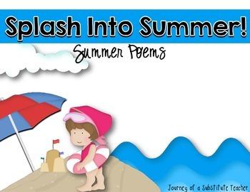 Summer Poem Pack