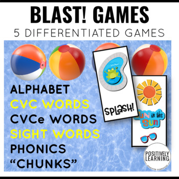 Splash! Phonics and Sight Word Blast Game