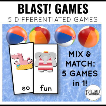 Summer Games Phonics and Sight Words