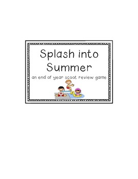 Splash Review Math Scoot