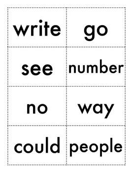 Splash - Sight Word Card Game (Fry)