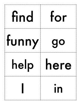 Splash - Sight Word Card Game (PK-2)