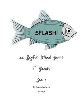 Splash! Sight Word Game 1st Grade Set #1