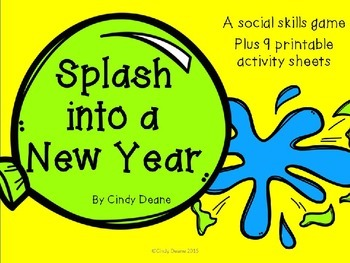 Splash into a New Year: A Social Skills Game and Printables