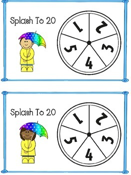Splash to 20 - A Place Value Game