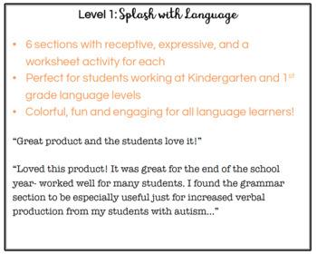 Splash with Language (Level 1)