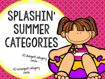 Splashin' Summer Categories