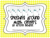 Splashing Around Spring Math Centers