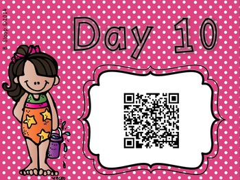 Splashing Into Summer QR Code Countdown!