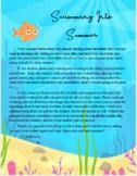 Splashing Into Summer goodbye letter