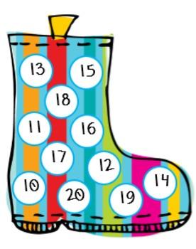 Splashing into Spring Math Bingo