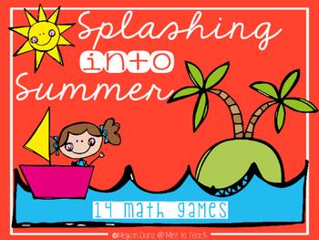 Splashing into Summer Math Games