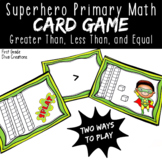 Superhero Math | A Printable Math Center for Numbers in Base Ten