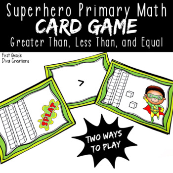 Splat {A Printable Math Center for Numbers in Base Ten}