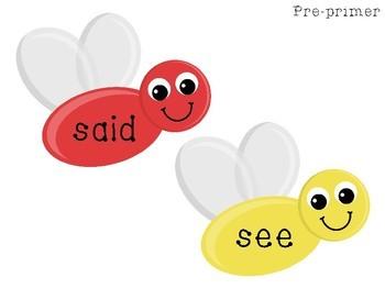 Splat! Sight Words Game