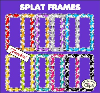 Splat Frames Freebie!