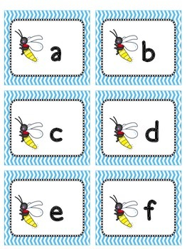 Splat!  Letter and Sound Identification Game