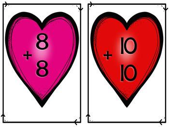 Splat Math Addition Valentine *Bundle*