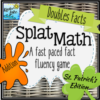 Splat Math - Doubles Facts Addition Fluency