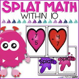 Math Fact Fluency Game within 10