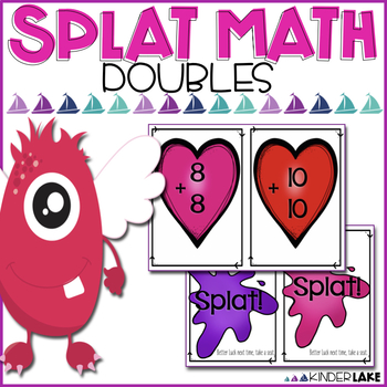 Math Fact Fluency Doubles Facts