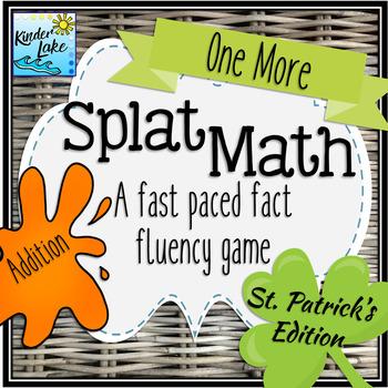 Splat Math - One More Fact Fluency